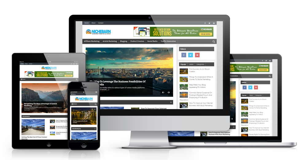 Nichebarn WordPress Theme